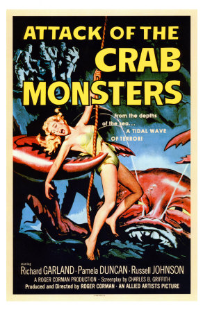 attack-of-the-crab-monsters-posters