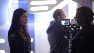 Marina_Sirtis_on set