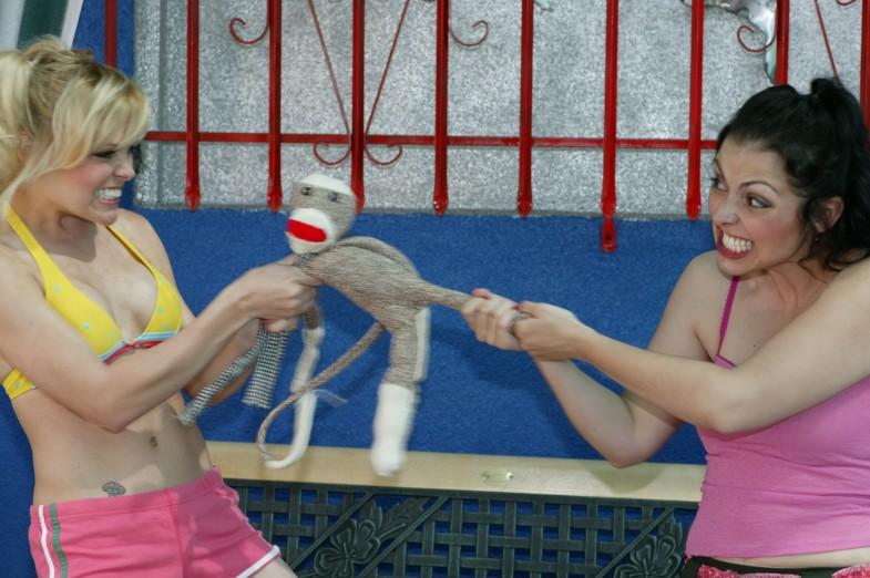 Wanda & Raquel and Sock Monkey