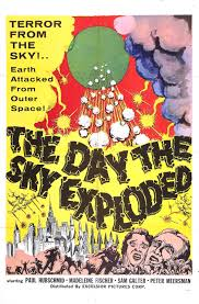 The daty the sky exploded