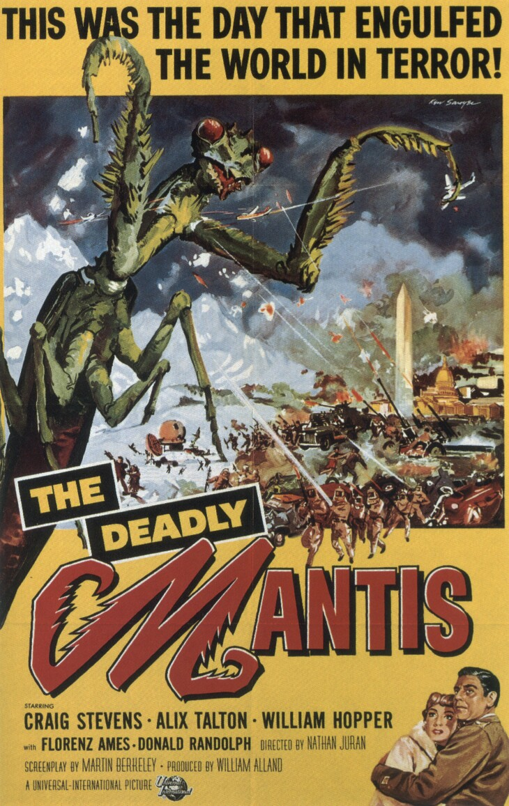 1957-deadly-mantis-the-poster