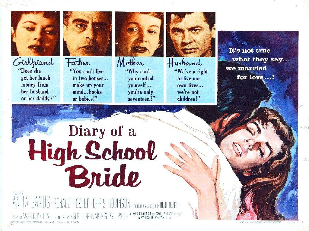 diary of high school bride