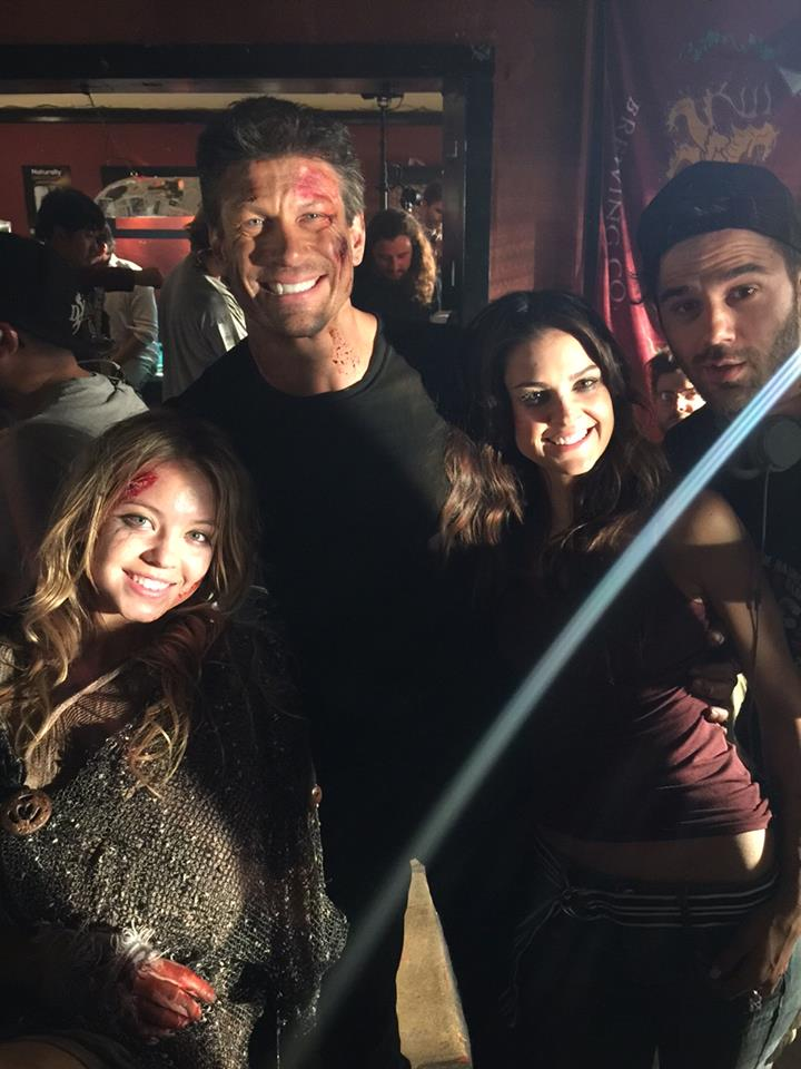 the horde on set