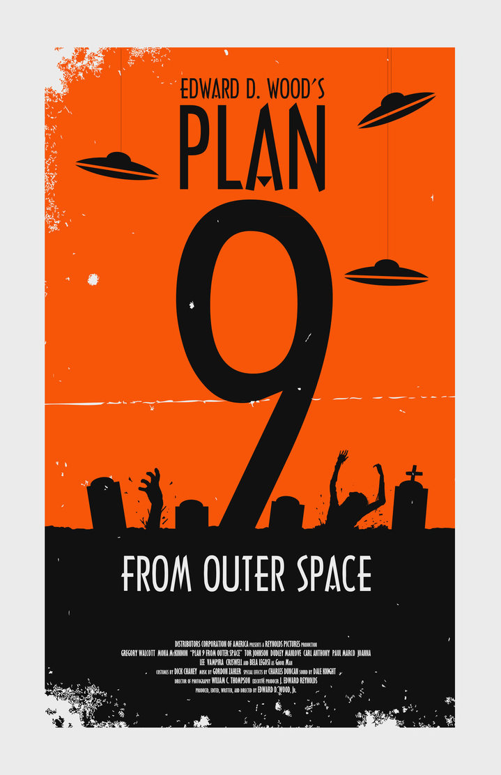 B movie nation plan 9 from outer space 1959 for From outer space