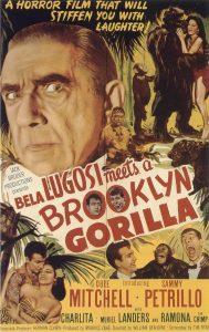 1952-bela-lugosi-meets-a-brooklyn-gorilla-poster
